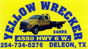 Yellow Wrecker Towing Service